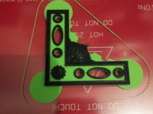 Corner bracket - lulzbot taz 5