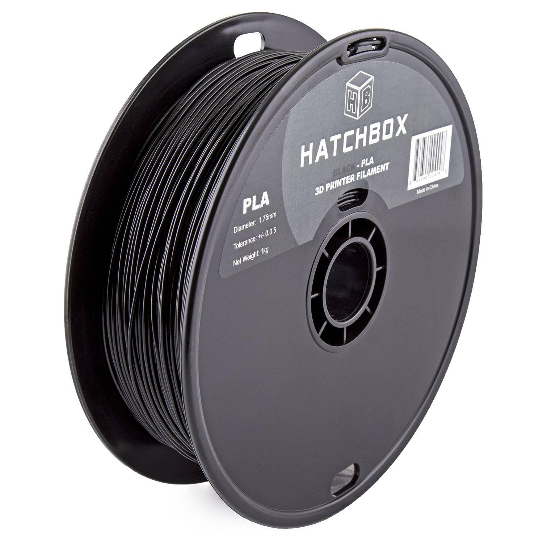 Hatchbox Black PLA