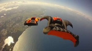 skydiving - nasa hypersonic aircraft