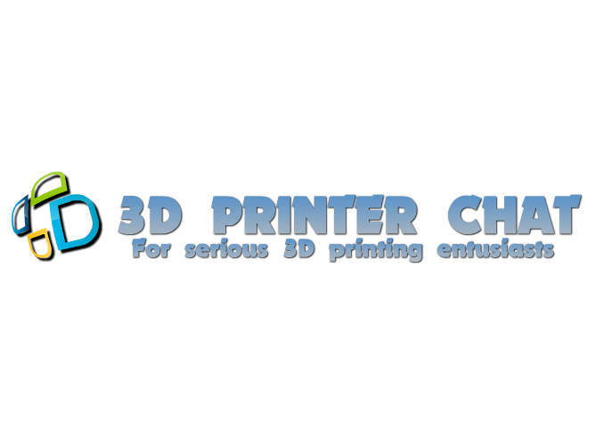 3D Printer Chat Logo
