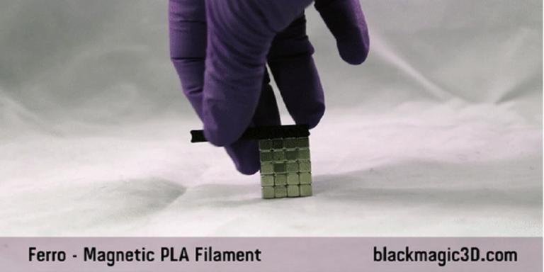 Magnetic PLA Filament