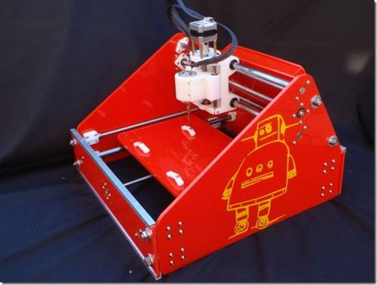 3D CNC Mill