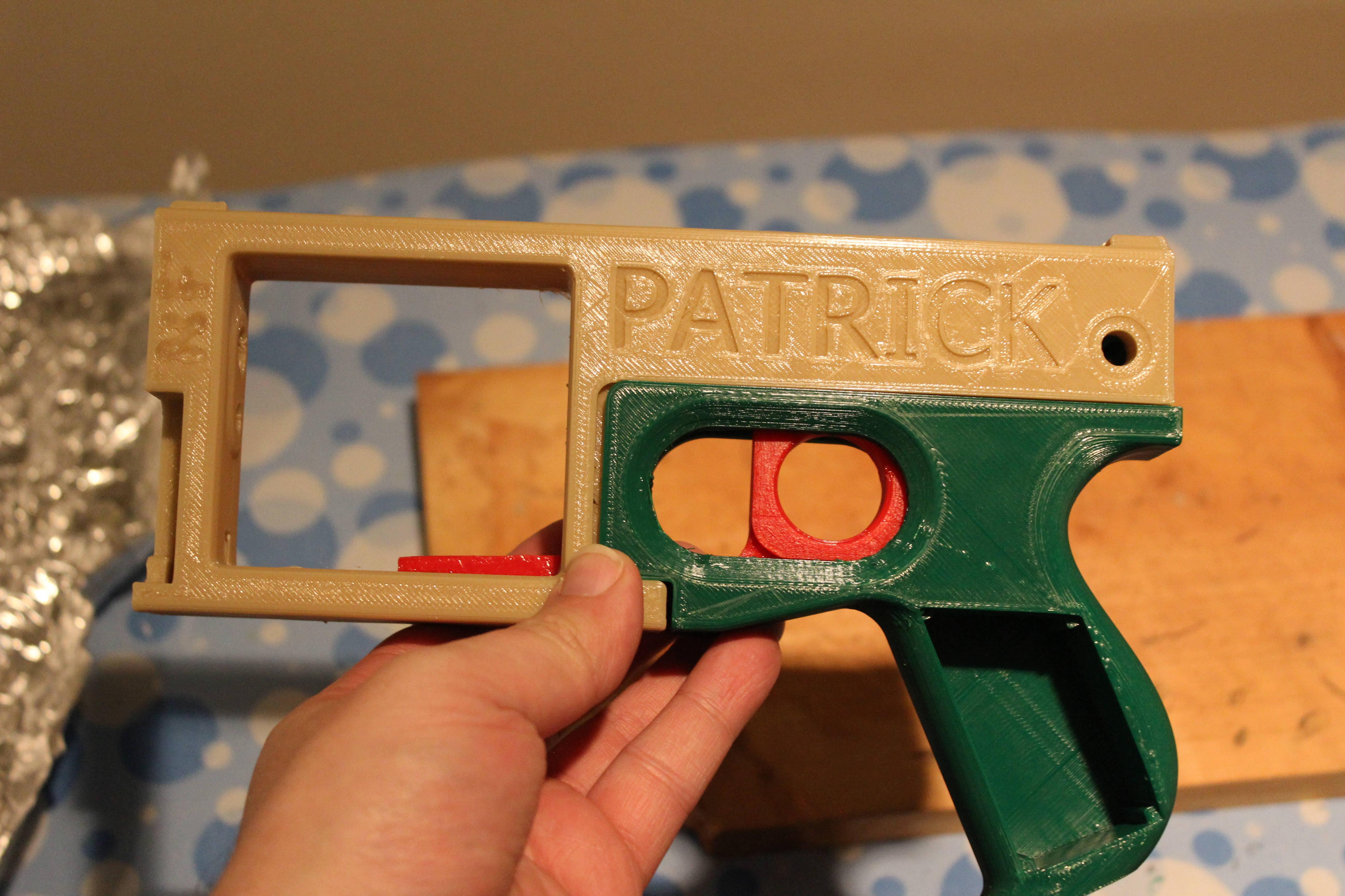 washbear 3D gun