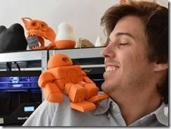 3D Printed robots