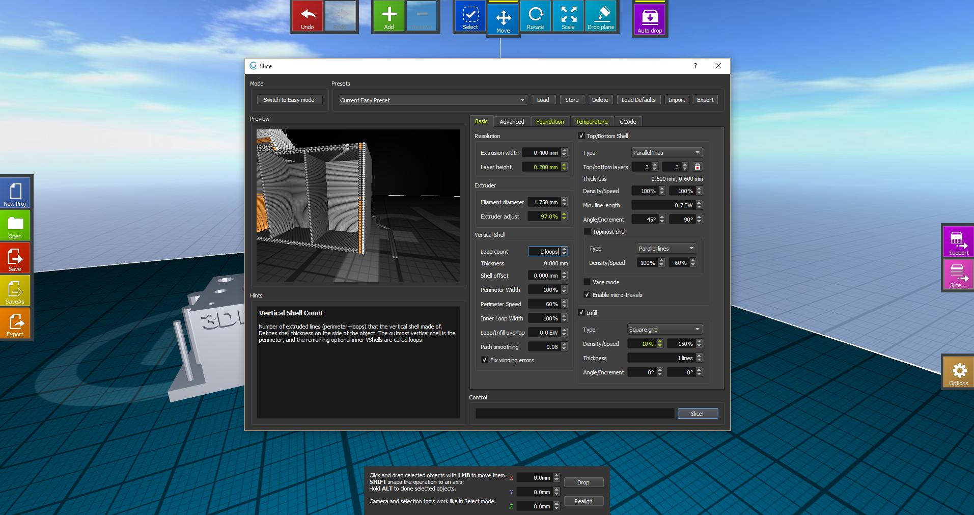 CraftWare 'Expert' Mode