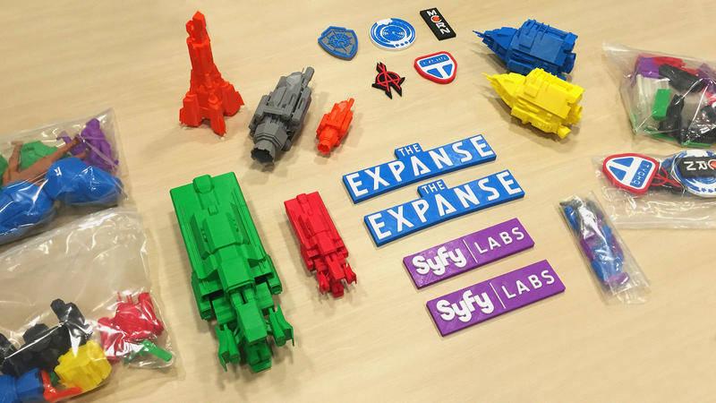 Expanse pieces