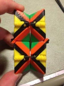 Fidget 3D printed with MakerBot PLA filament