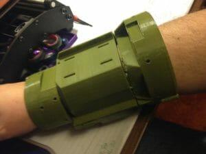 Fallout 4 Pip Boy controler, 3D printed through 3DHubs.