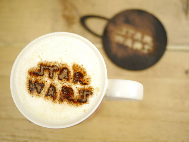 Origioanl Coffee stencil