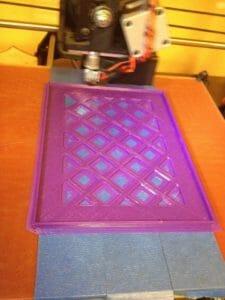 Lulzbot Taz 5 tool tray printed w. Prototype supply