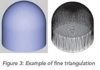 Example of fine triangulation