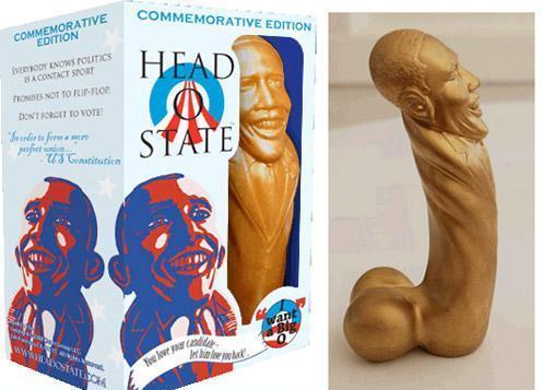 Obama dildo - political 3d printing