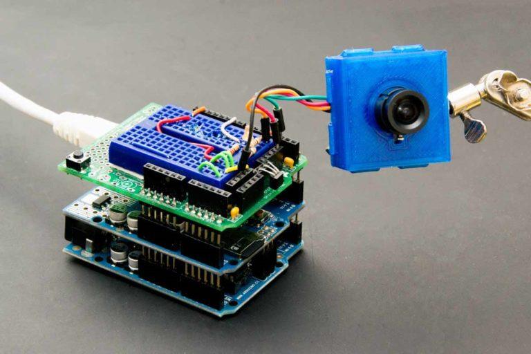 Watch your 3D Print through a Camera online using Arduino