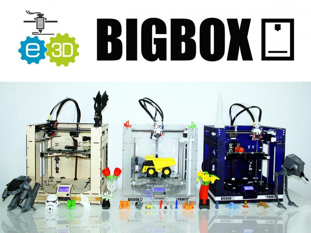bigbox3d e3d kickstarter4 3DPrinter - 3D printers