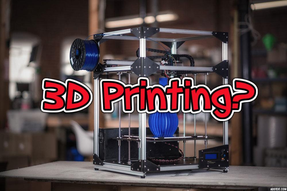 3DPrinting FAQ