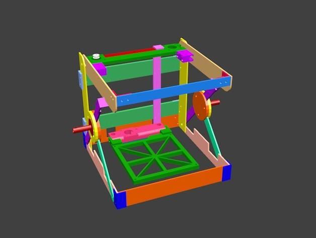 Foldie 3D printer