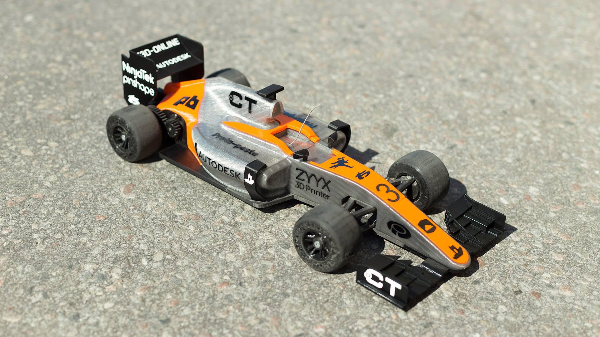 OpenR/C Formula 1 car
