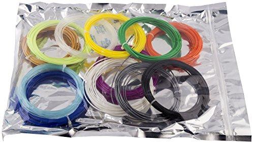 HATCHBOX-3D-PEN-ABS175-SMP-ABS-3D-Pen-Filament-Dimensional-Accuracy-005mm-044lbs-Total-175mm-12-Color-Sample-Pack-20-Feet-Per-Color-0-0