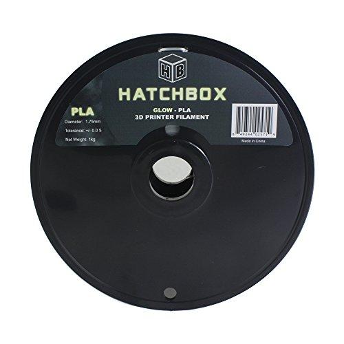 HATCHBOX-3D-PLA-1KG175-GLOW-PLA-3D-Printer-Filament-Dimensional-Accuracy-005-mm-1-kg-Spool-175-mm-Glow-in-the-Dark-0-0