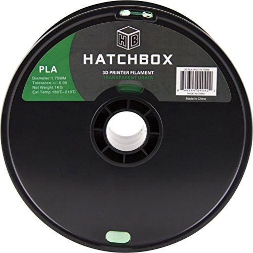 HATCHBOX-3D-PLA-1KG175-TGRN-PLA-3D-Printer-Filament-Dimensional-Accuracy-005-mm-1-kg-Spool-175-mm-Transparent-Green-0-0