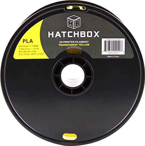 HATCHBOX-3D-PLA-1KG175-TYLW-PLA-3D-Printer-Filament-Dimensional-Accuracy-005-mm-1-kg-Spool-175-mm-Transparent-Yellow-0-0
