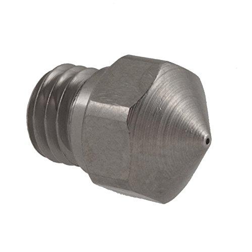 Micro-Swiss-HW-NOZ-MK10-04-Plated-Brass-Wear-Resistant-Nozzles-175-mm-MK10-Flash-ForgeDremelWanhao-04-mm-Bright-Nickel-0