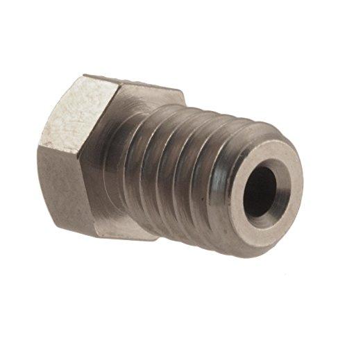 Micro-Swiss-HW-NOZ-MODMK8-04-Plated-Brass-Wear-Resistant-Nozzles-175-mm-RepRap-M6-E3DHexagon-04-mm-Bright-Nickel-0-0