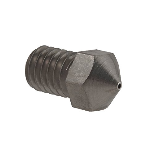 Micro-Swiss-HW-NOZ-MODMK8-06-Plated-Brass-Wear-Resistant-Nozzles-175-mm-RepRap-M6-E3DHexagon-06-mm-Bright-Nickel-0