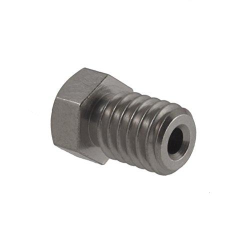 Micro-Swiss-HW-NOZ-MODMK8-08-Plated-Brass-Wear-Resistant-Nozzles-175-mm-RepRap-M6-E3DHexagon-08-mm-Bright-Nickel-0-0