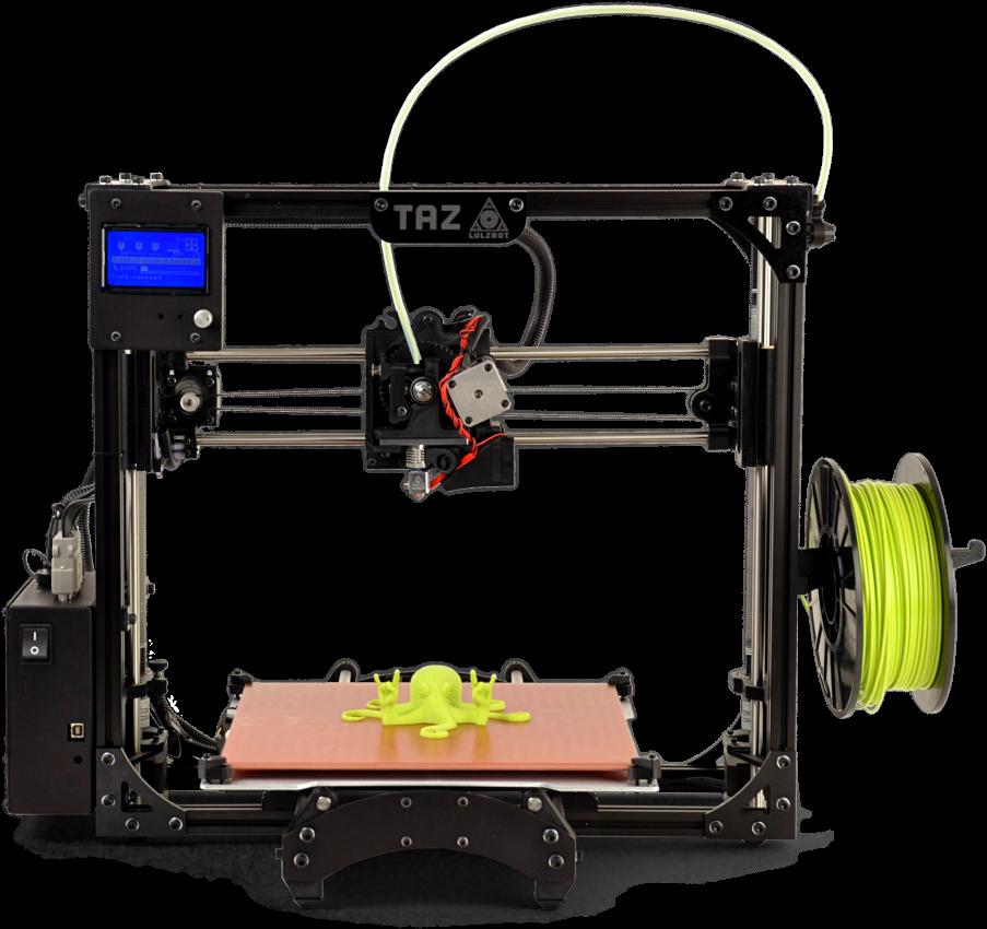 Lulzbot Taz 5 - 3D printing rating