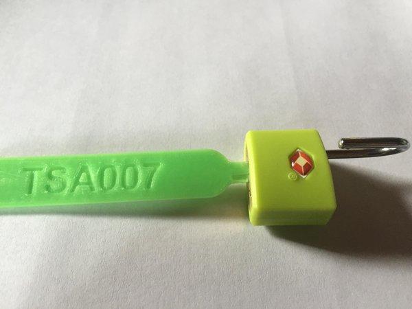 3D printed master lock