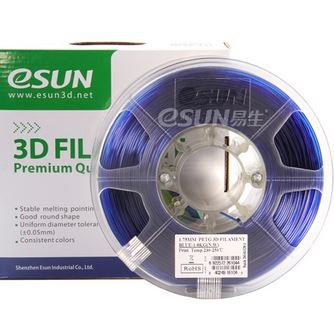 eSUN-PETG-filament-3mm-Blue-1kg22lb-Spool-for-Makerbot-Reprap-UP-Afinia-Flash-Forge-and-all-FDM-3D-Printers-Blue-Semi-transparent-0
