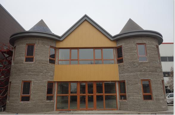 2 story villa - 3d printing homes