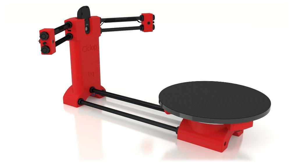 BQ Ciclop 3D Scanner KIT - 3D Scanner