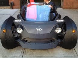 Strati - 3D Printed Cars