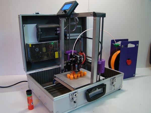 suitcase printer