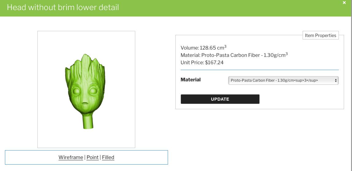3D Printing Calculator wordpress plugin