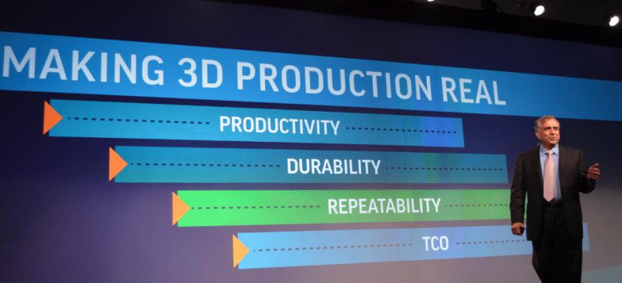 "3D Systems CEO Vyomesh ""VJ"" Joshi"