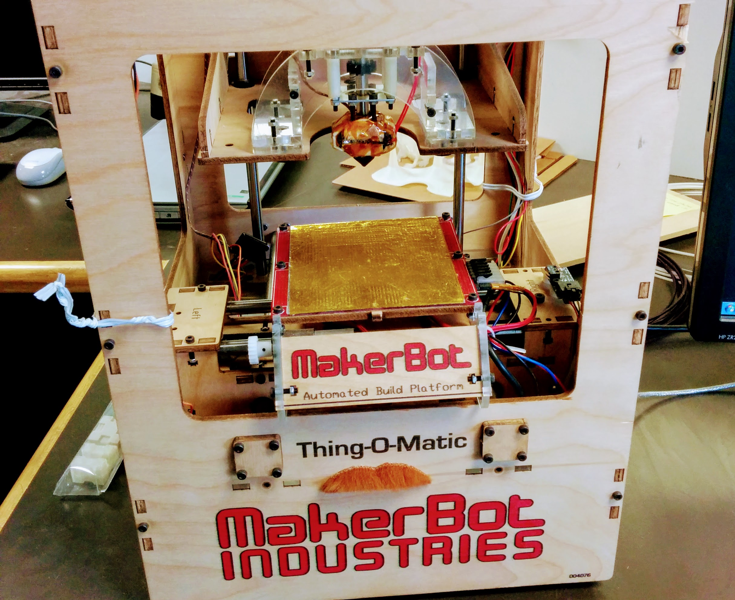 Makerbot Thing-O-Matic - John Hauer