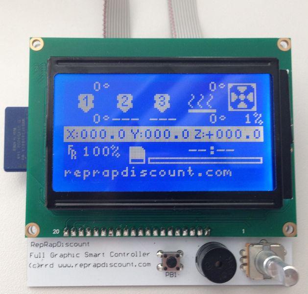 Reprap LCD