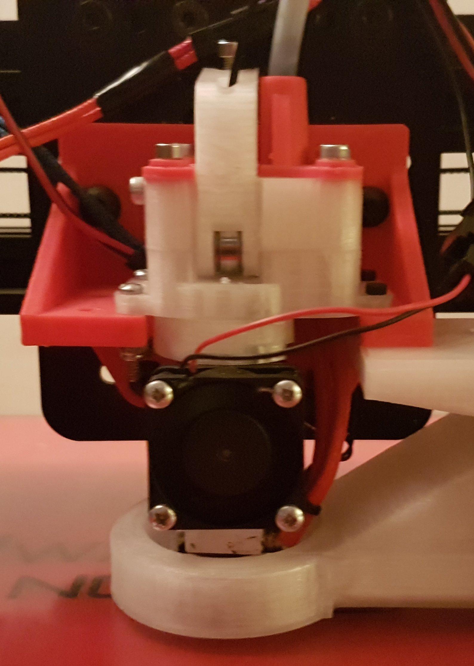 Flex3drive Print part cooling