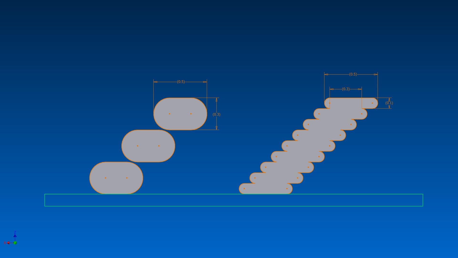 3D Printed Overhang VS Layerheight