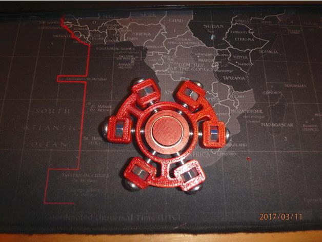 Bolt Halo Fidget Spinner