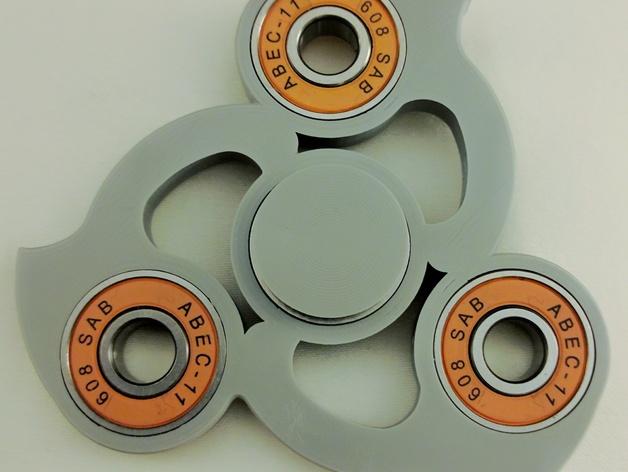 Fidget Spinner Warped