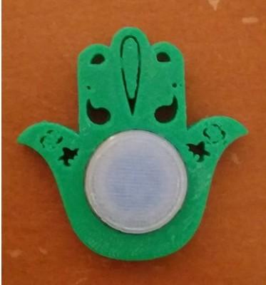 Hamsa Luck Fidget Spinner