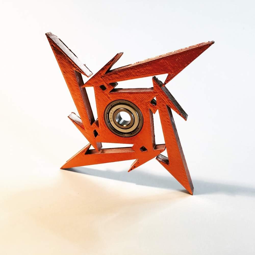 Metallica Ninja Star Spinner