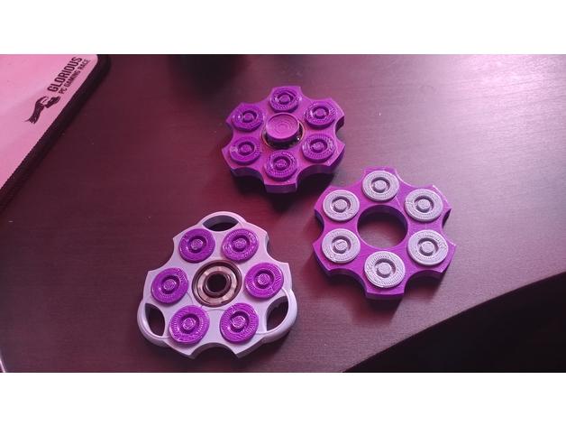 Revolver Fidget Spinner