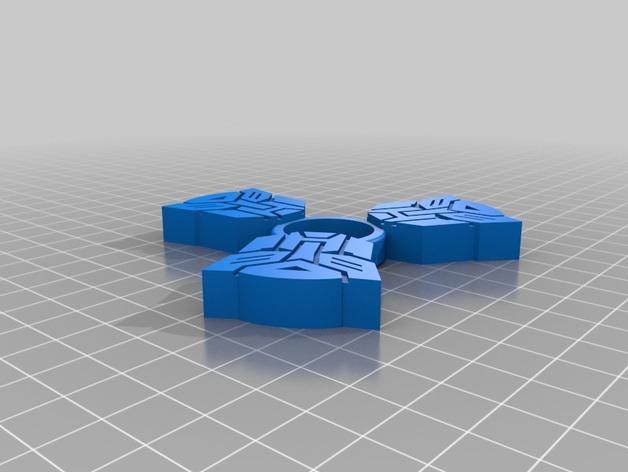 Transformer Fidget Spinner