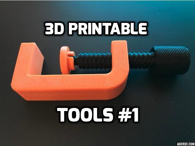 3D Printable Tools