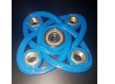 Celtic knot fidget spinner